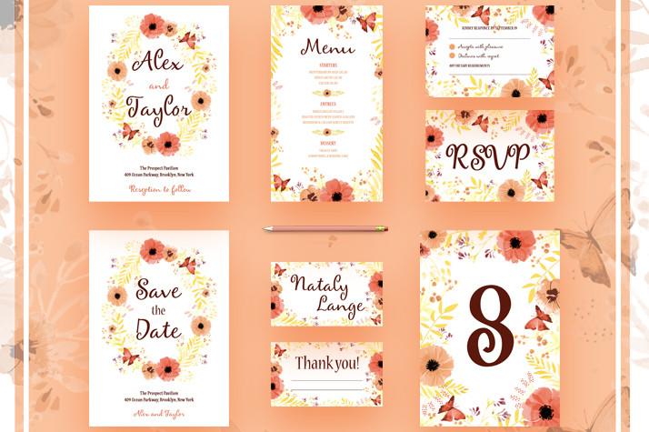 Wedding Invitation Template Photoshopwedding Invitations Templates
